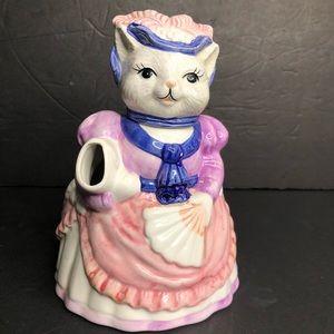 Vintage Ceramic Cat Teapot Taiwan